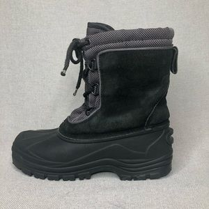 Rugged outback thinsulate snow boots, size 6